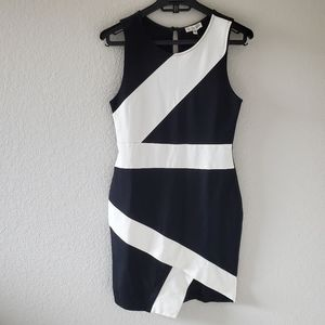 NWT GUESS carly colorblock dress